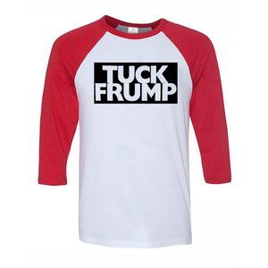 shirtcustomize Shirts - Youth Kids Tuck Frump 3/4 Sleeve Baseball Tee
